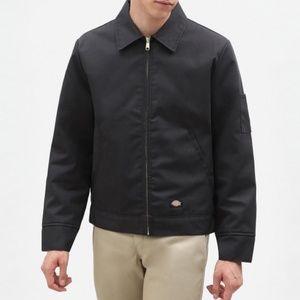 Dickies Eisenhower Black Zip Up Jacket